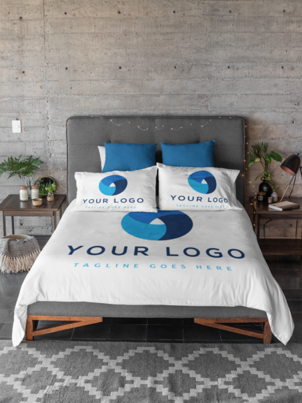customized bed sheets corporate gift